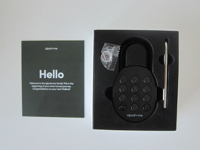 igloohome Smart Padlock - Box Open
