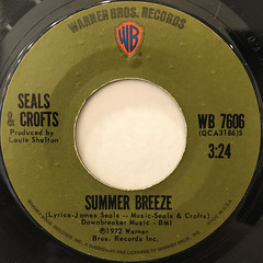 SEALS & CROFTS:SUMMER BREEZ(LABEL SIDE-A)