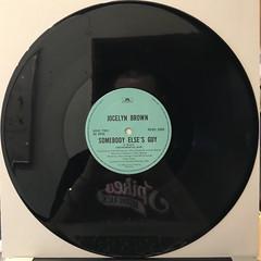 JOCELYN BROWN:SOMEBODY ELSE'S GUY(RECORD SIDE-B)