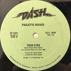 PAULETTE REAVES:DO IT AGAIN(LABEL SIDE-B)