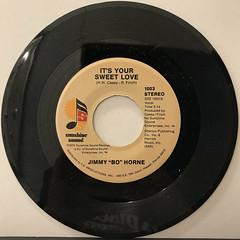 JIMMY BO HORNE:DANCE ACROSS THE FLOOR(RECORD SIDE-B)