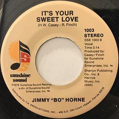 JIMMY BO HORNE:DANCE ACROSS THE FLOOR(LABEL SIDE-B)