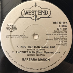 BARBARA MASON:ANOTHER MAN(LABEL SIDE-A)