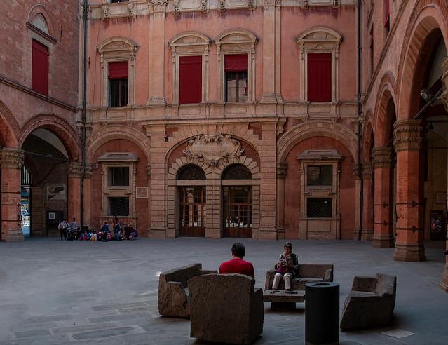 Salotto a Palazzo d'Accursio
