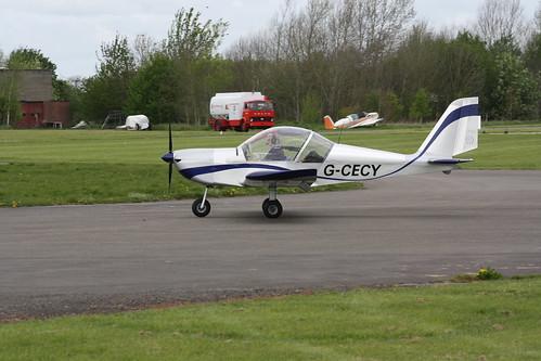 G-CECY Evektor EV-97 [PFA 315-14551] Henstridge 280419