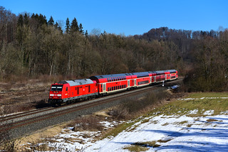 245 006-2 DB I RE 4215 I Schussentobel (6175)