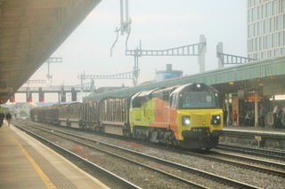 678D 1720 Baglan Bay (Colas) to Chirk Kronospan Colas Rail
