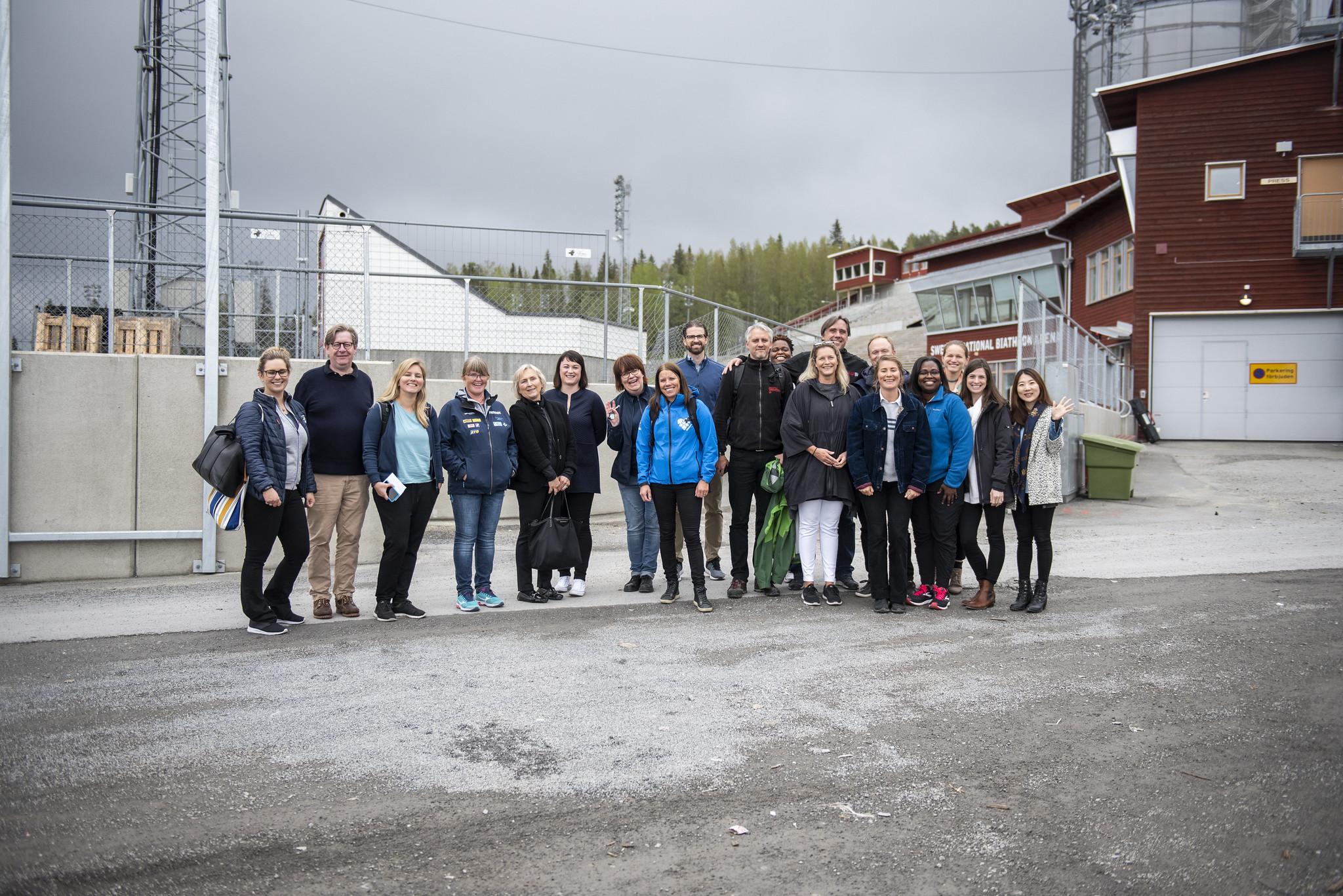 SOWWG 2021 CoCom-meeting Åre & Östersund