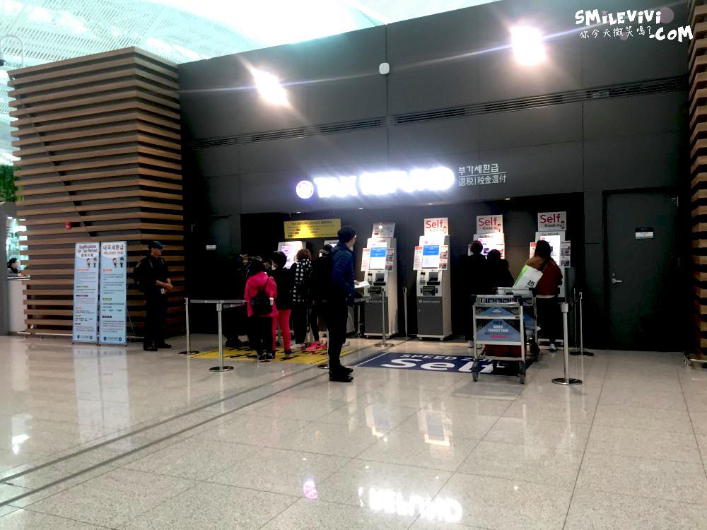 仁川∥韓國免稅店退稅提貨!!!韓國仁川機場第二航廈之退稅領現金與免稅店領貨分享