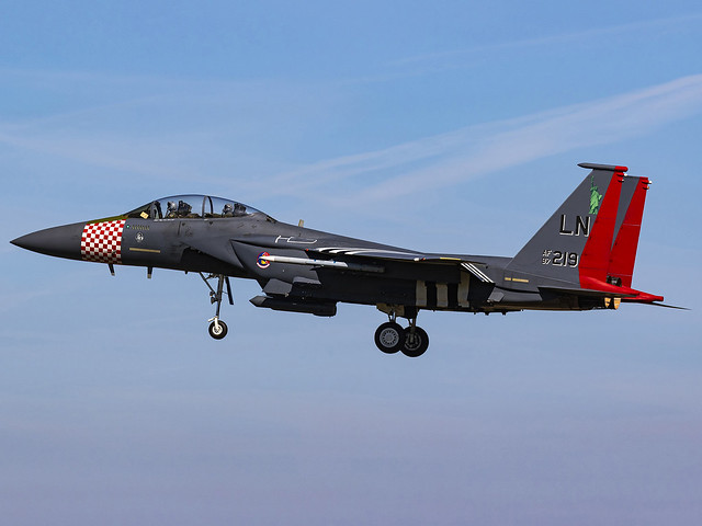 United States Air Force   Boeing F-15E Strike Eagle   97-0219