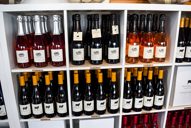 Wines for Sale at Trevibban Mill Vineyard, Cornwall