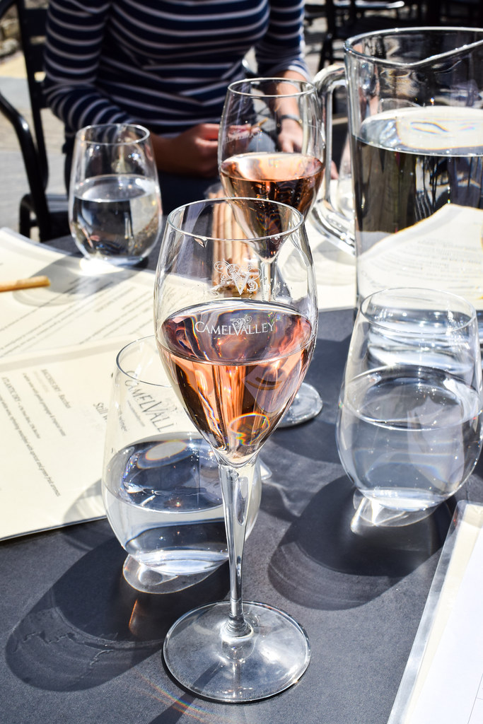Wine Tasting with Cornish Wine Tours at Camel Valley, Cornwall