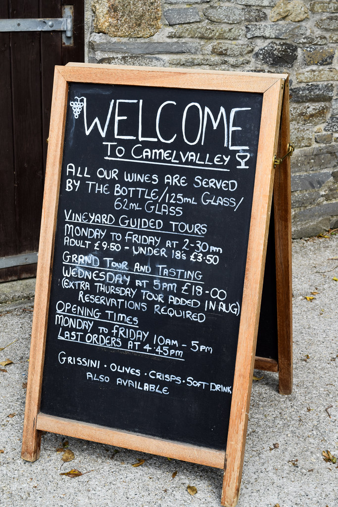 Wines by the Glass at Camel Valley, Cornwall