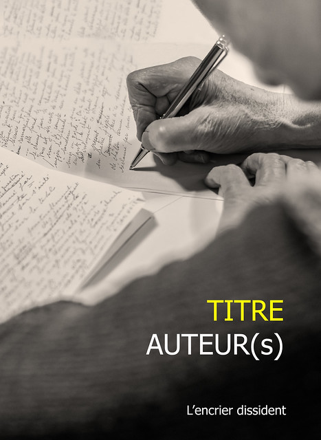 L'atelier d'écriture (writing workshop - future cover)