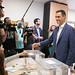 26.05.2019 Pedro Sánchez vota en las elecciones municipales, autonómicas y europeas del 26M
