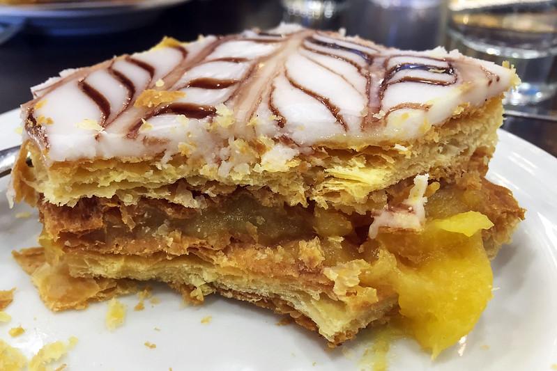 Vanilla slice: Pau de Canela
