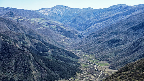 nature view landscape mountain sky river jungle green