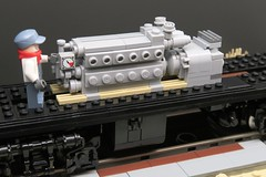 Lego EMD NW3 WiP — Powerblock Completed