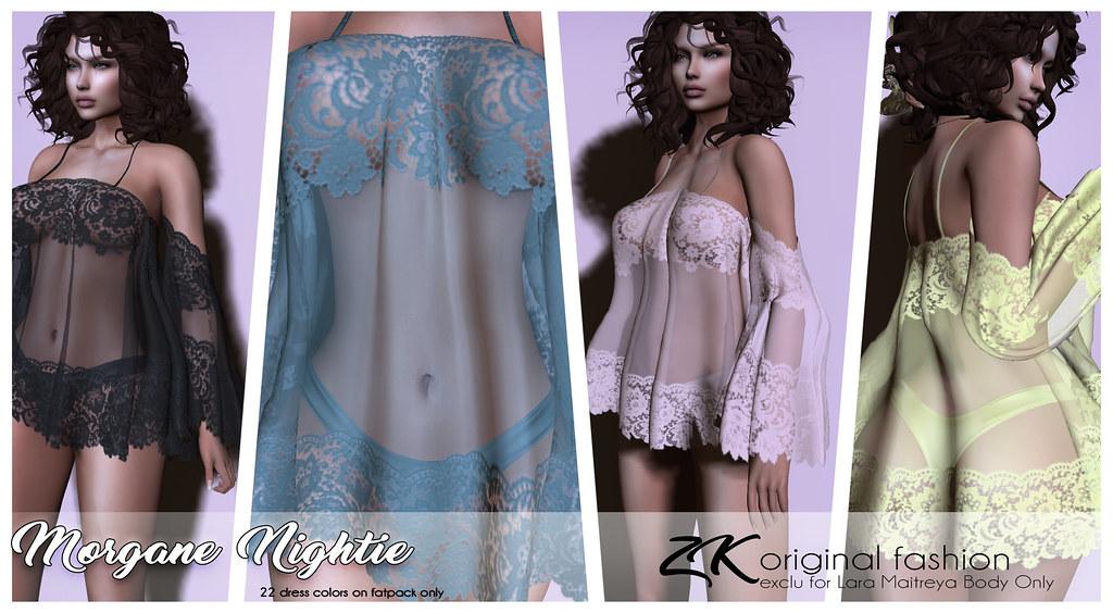 -:zk:- Morgane Nightie EXCLU@KINKY EVENT