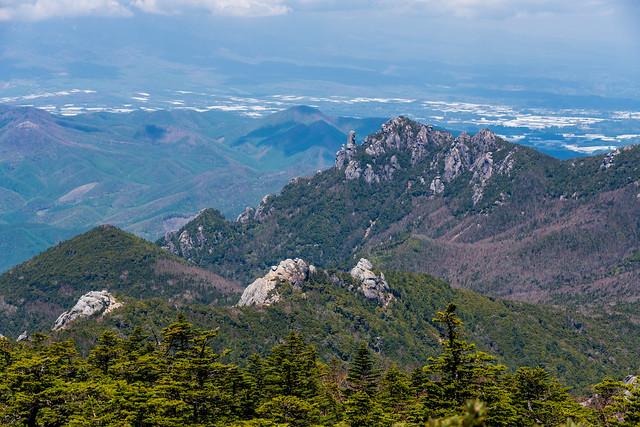 瑞牆山と大日岩