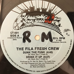 THE FILA FRESH CREW:DUNK THE FUNK(LABEL SIDE-A)