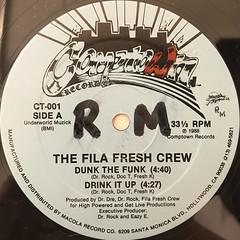 THE FILA FRESH CREW:DUNK THE FUNK(LABEL SIDE-A)
