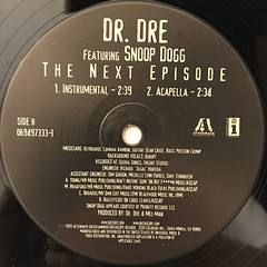 DR. DRE FEATURING SNOOP DOGG:THE NEXT EPISODE(LABEL SIDE-B)