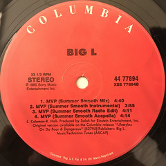 BIG L:MVP(LABEL SIDE-B)