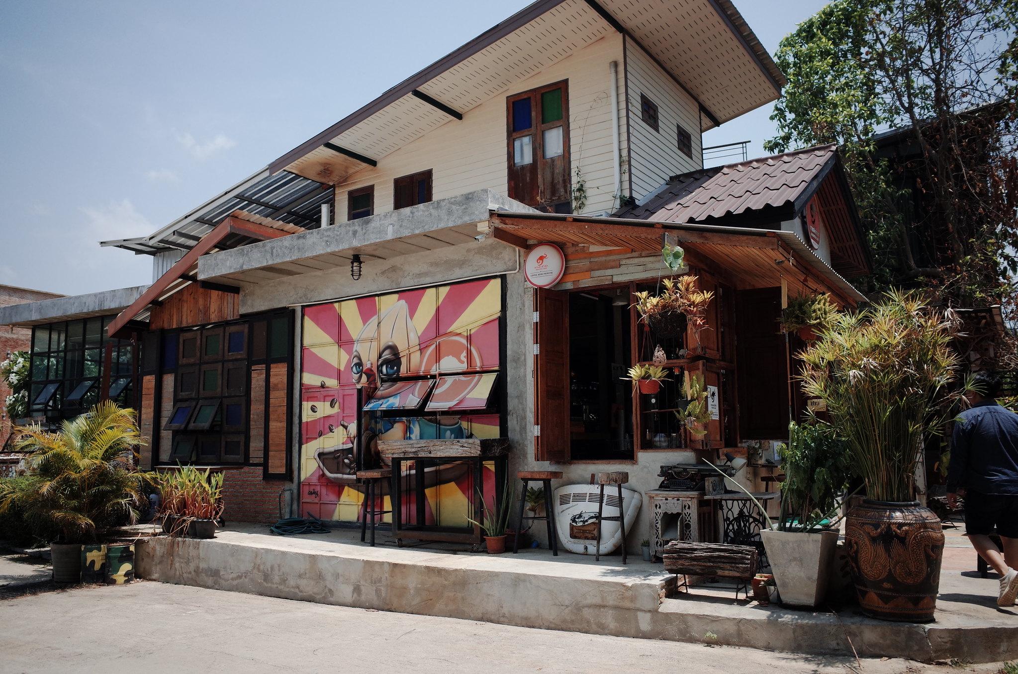 Khaotha Coffee - Cà phê ở Pai