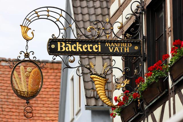 Zunftzeichen Bäckerei Väth - Lohr am Main
