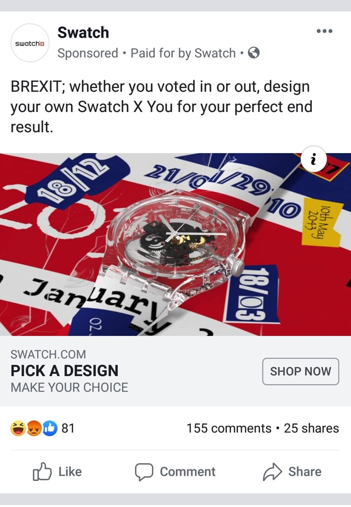 swatch brexit