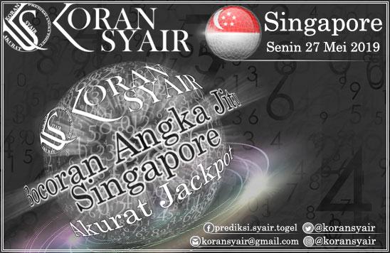 Bocoran Angka Jitu Singapore Senin 27-05-2019 - a photo on ...