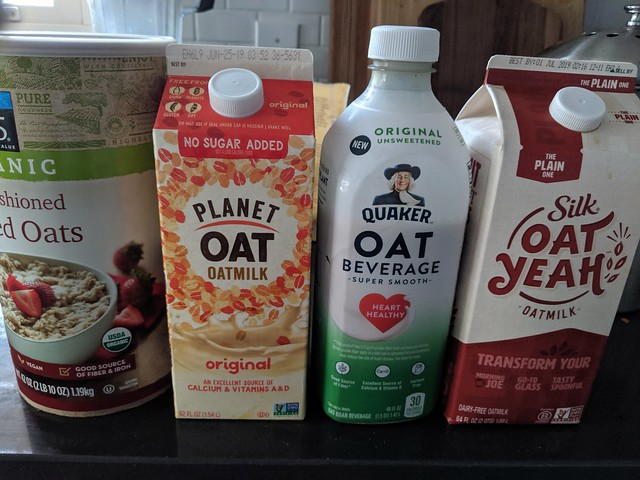 The new crop of oat milks after the oatly shortage