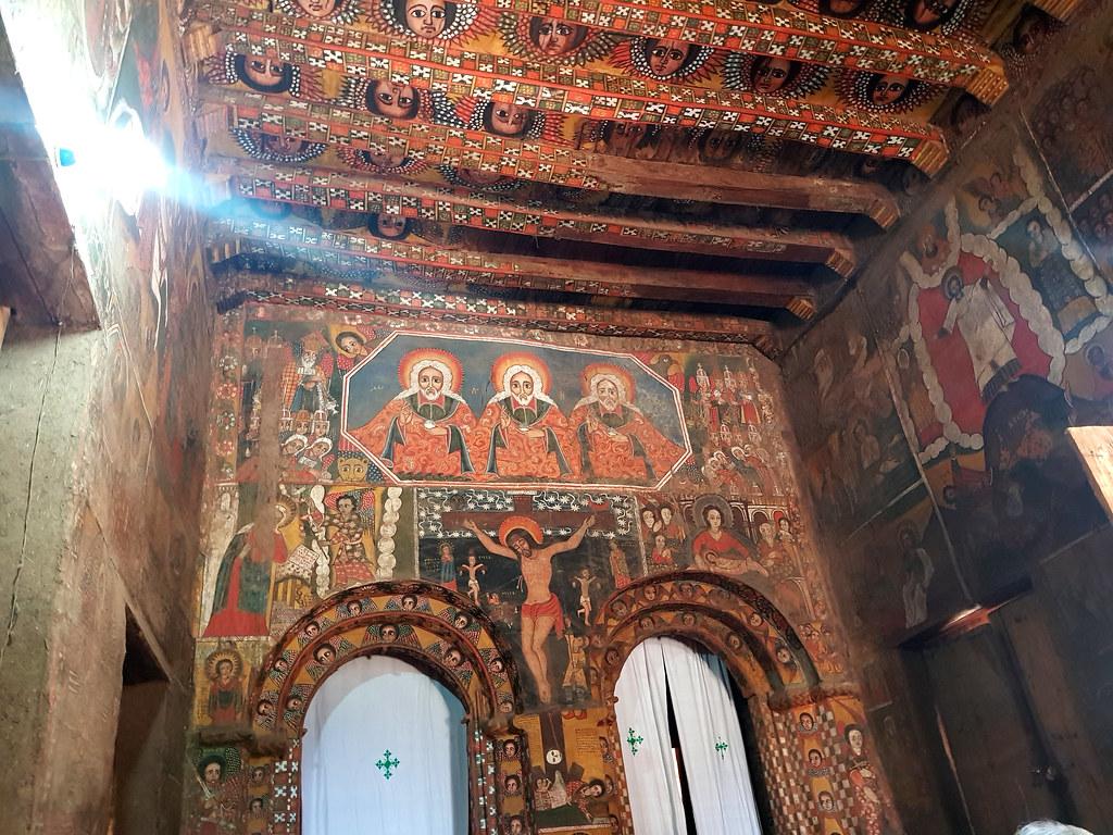 Kościół Debre Birhan Selassie, Gonder