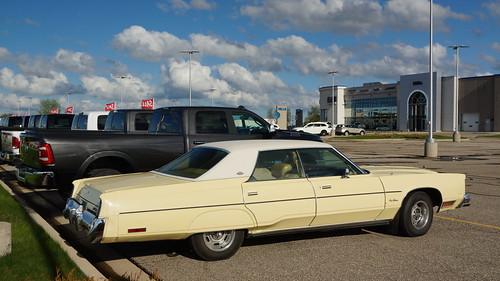 1978 Chrysler New Yorker Brougham & 2019 Ram 3500 Laramie Pick-Up Photo