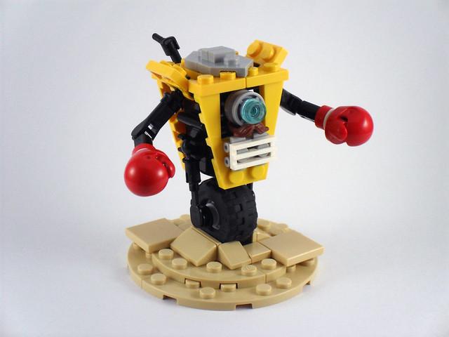 BR4W-LR Claptrap (Lego) - Borderlands 3 Fan Creations - The