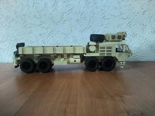 LEGO M977 Oshkosh HEMTT by Armorbrick