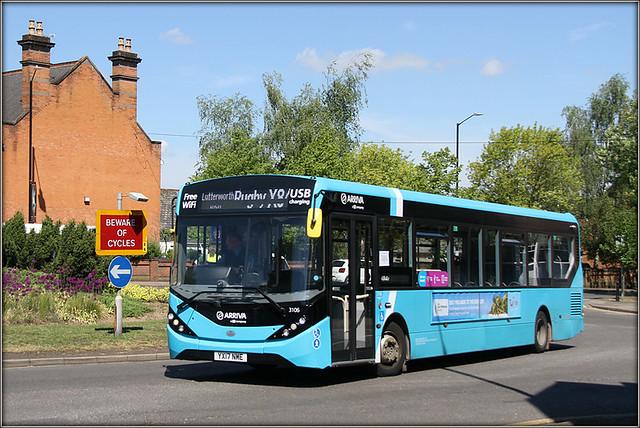 Arriva Midlands 3106
