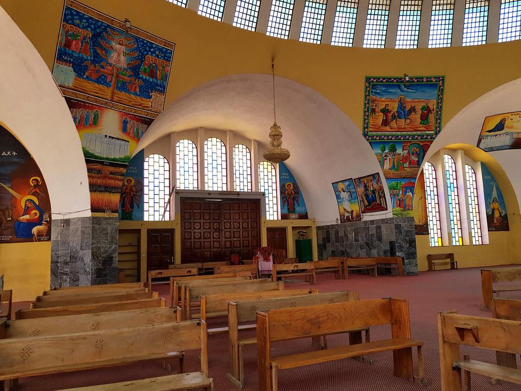Nowy Kościół Matki Bożej z Syjonu, Aksum