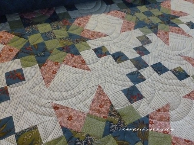 Star Quilt at FromMyCarolinaHome.com