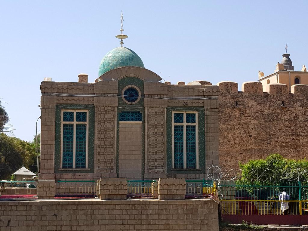 Kaplica Tablic z Arką Przymierza, Aksum