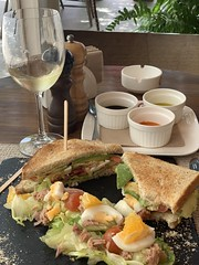 Lunch at Karel T-Lounge