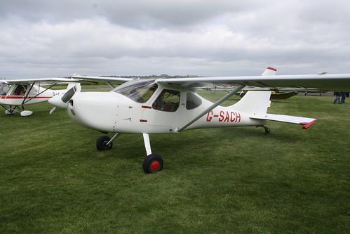 G-SACH Stoddard-Hamilton GlaStar [PFA 295-13088] Henstridge 280419