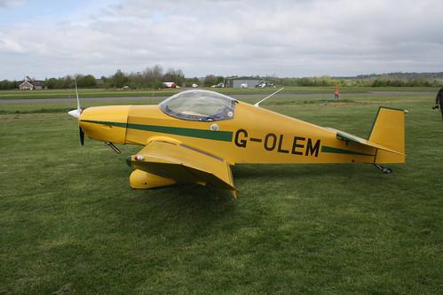 G-OLEM Jodel D18 [PFA 169-11613] Henstridge 280419