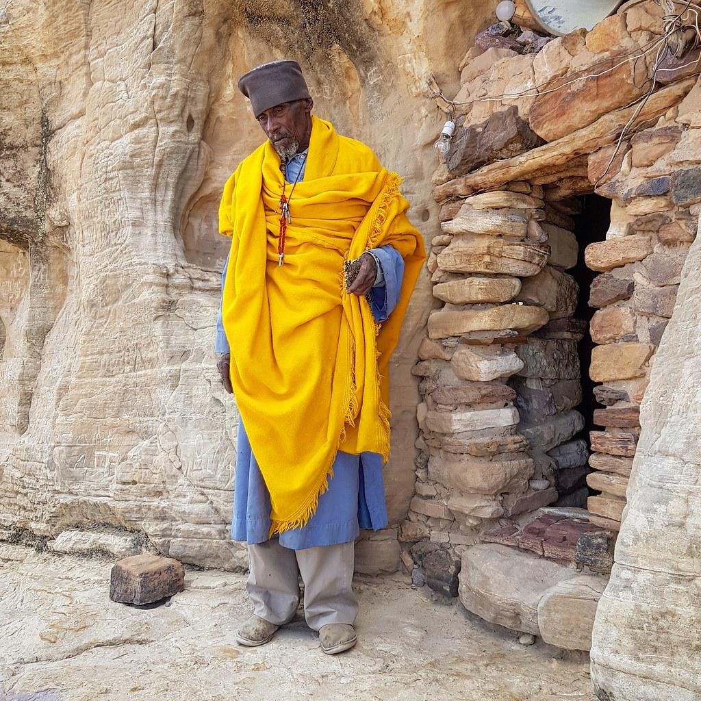 Wejście do Daniel Korkor, rejon Tigray