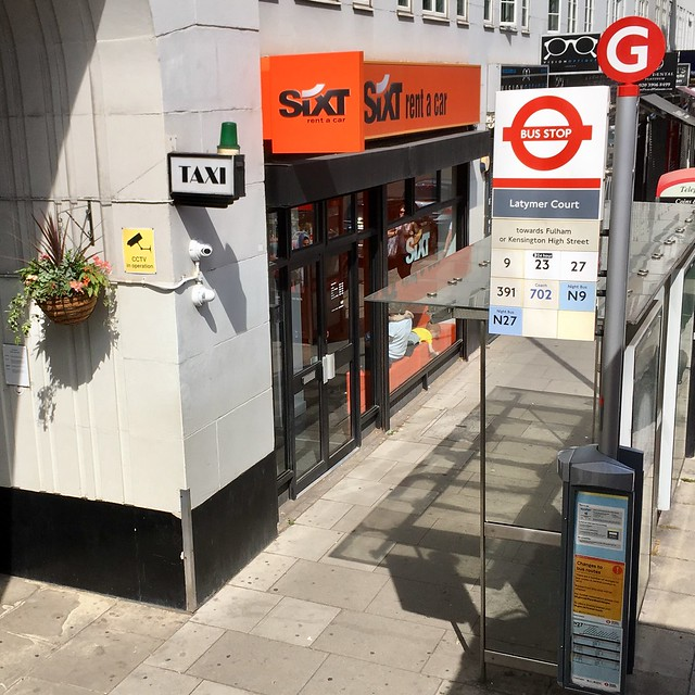 Latymer Court (Stop G), Hammersmith, London W6 7JP