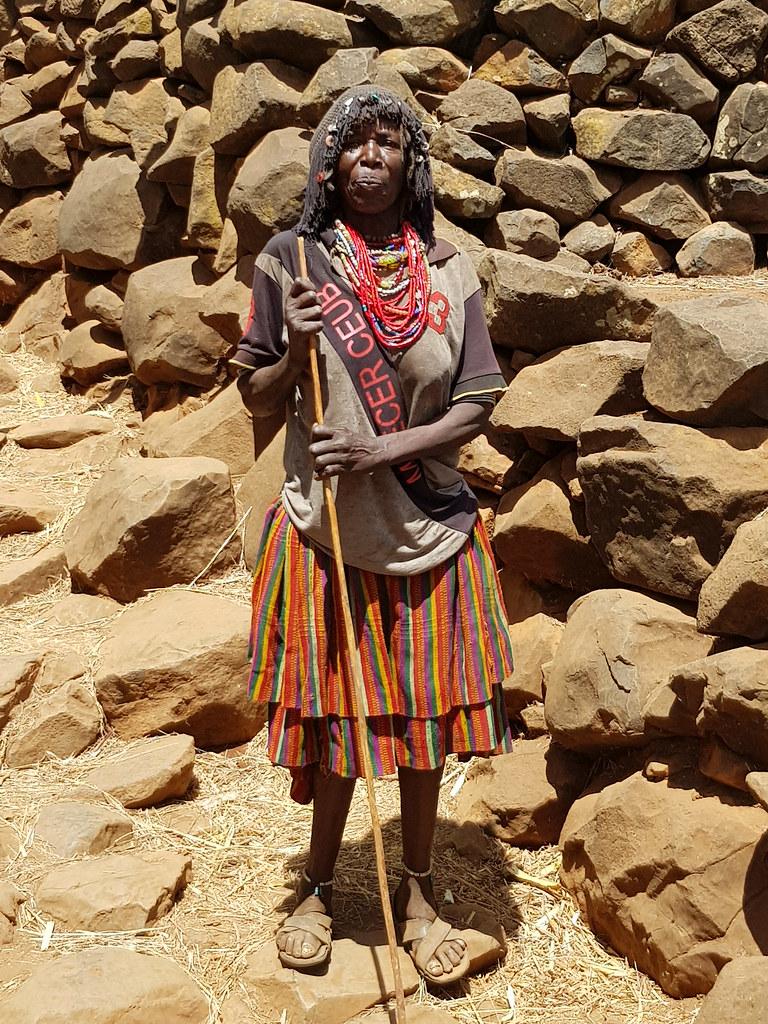 Kobieta z plemienia Konso