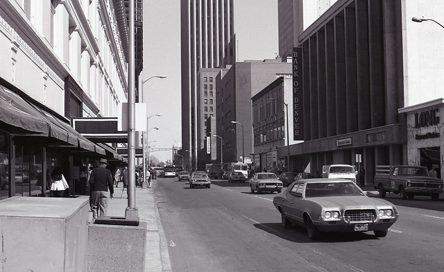 Revisiting the Past: Downtown Denver, March 1981