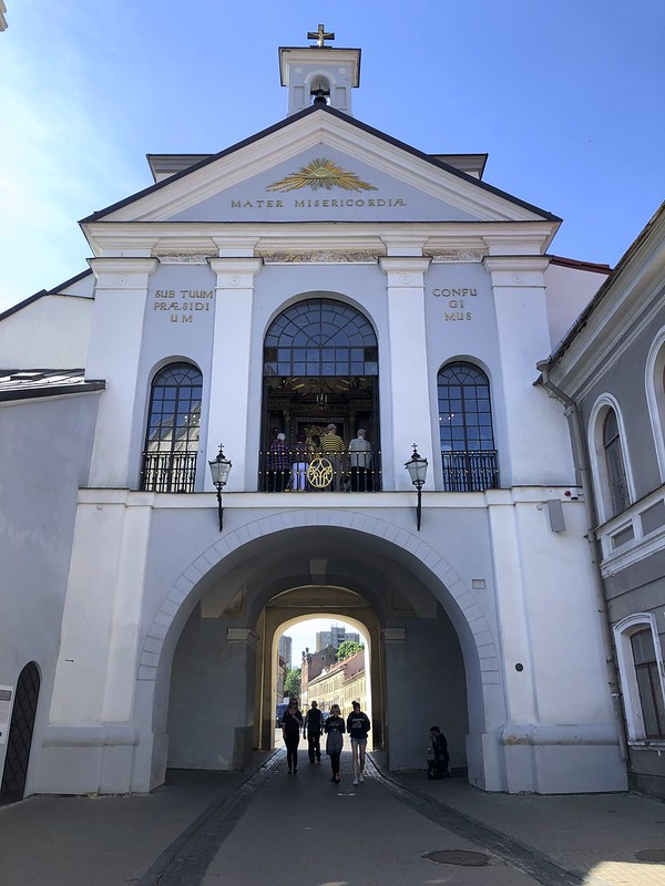 Aamunkoiton portti, Vilna