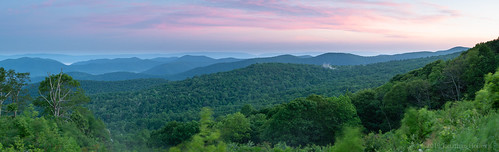 2019 jonathanhoiles shenandoah virginia fog mountains national park sunrise panorama